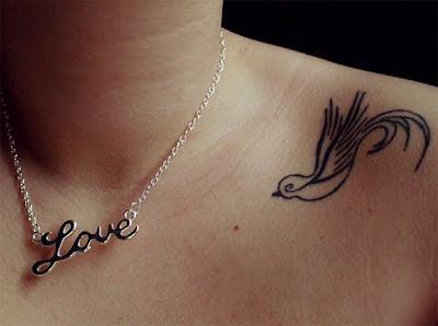 modelo tatuagem passarinho