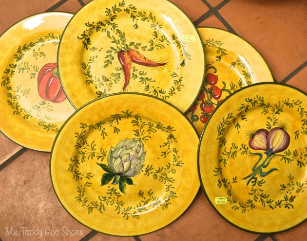 Decorative Plates For The Kitchen Ms Toody Goo Shoes