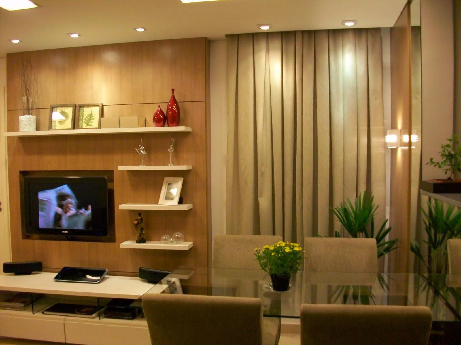 Soluções para apartamentos pequenos Apê em Decoração #2E2308 1600 1200