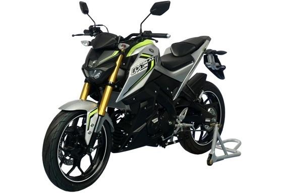 Ini nih pilihan warna Yamaha M-SLAZ yang dijual di Thailand . .