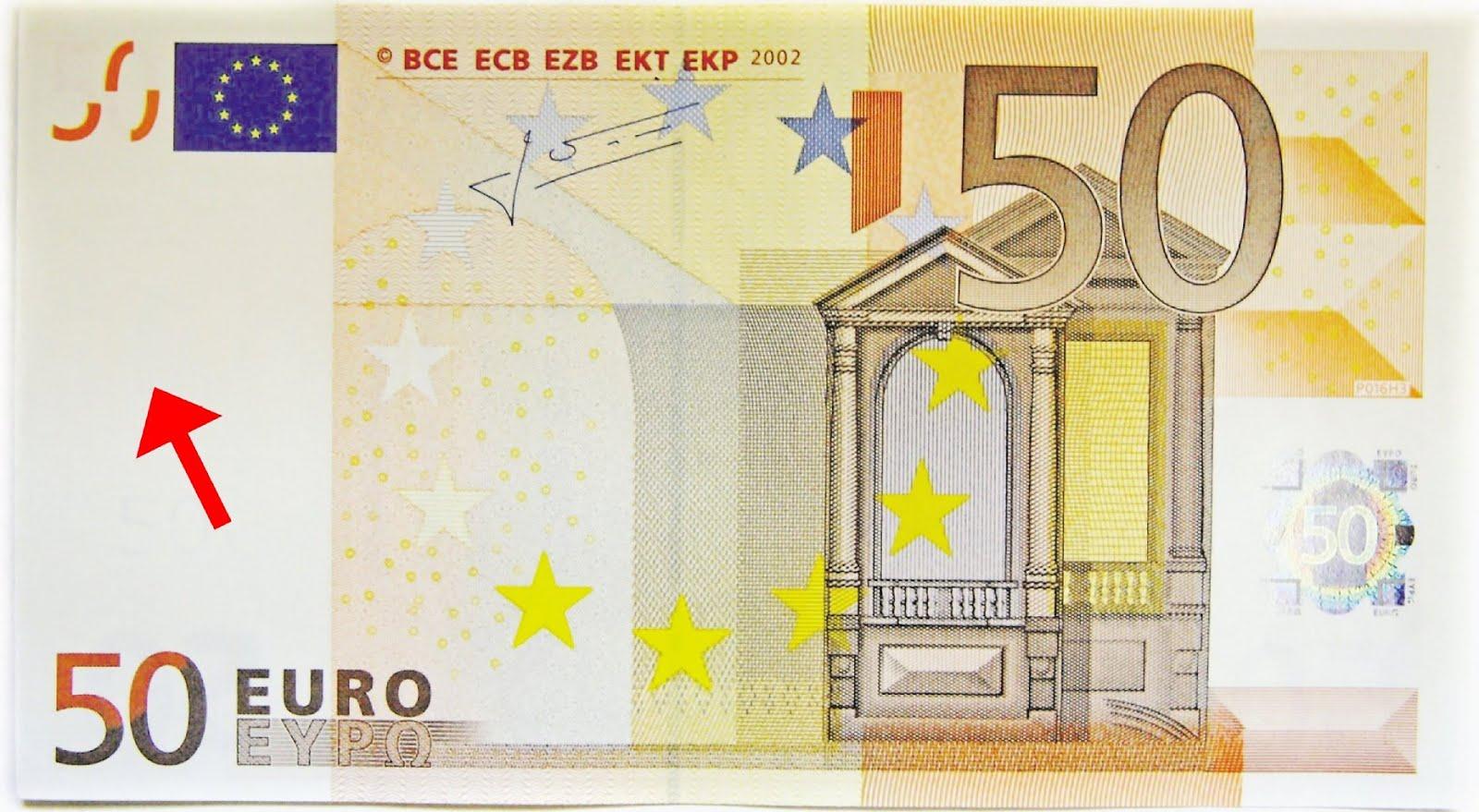 Finanzas nuevo billete de 50 euros para combatir for Sessel 50 euro