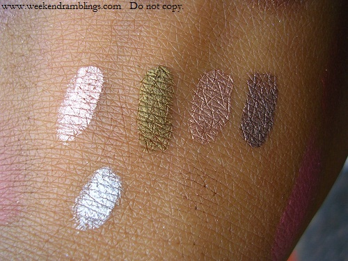 Chanel Ombre D Eau Fluid Iridescent Eyeshadow splash reviews swatches eotd torrent source glacier