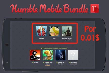 Nuevo Humble Bundle con juegos para Android.