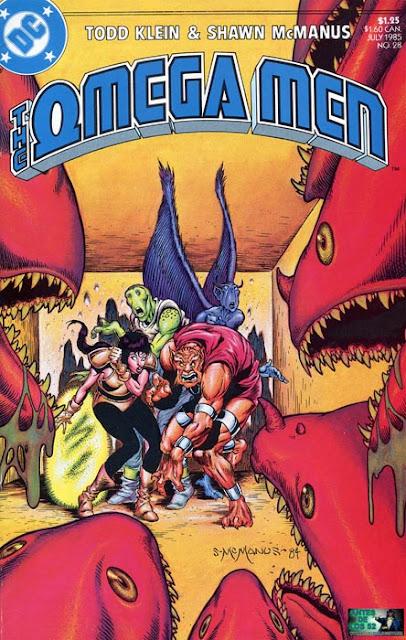 Portada de Omega Men #28 traducido