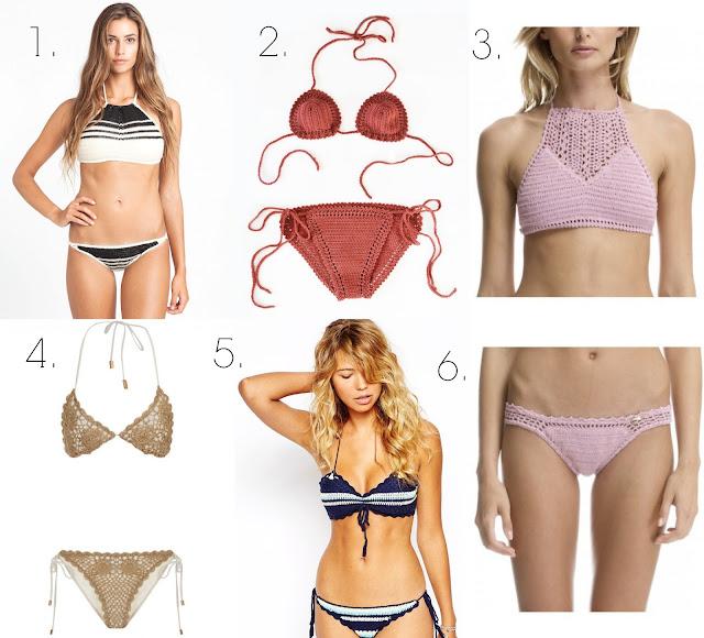 bikinis crochet croche verano 2015 hecho a mano She Made Me Lentejita