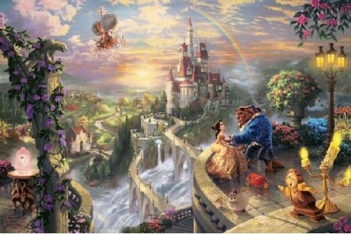 Beauty Beast Belle castle filmprincesses.filminspector.com