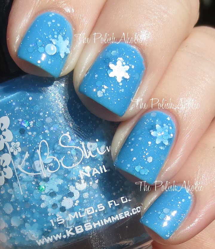 The PolishAholic: KBShimmer Winter 2013 Blogger Collection Swatches ...