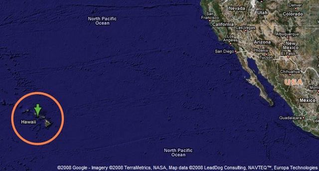 Hawaii project: Where Hawaii is located