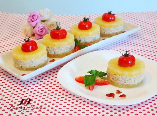 ayam brand tuna pineapple salad appetizers recipe