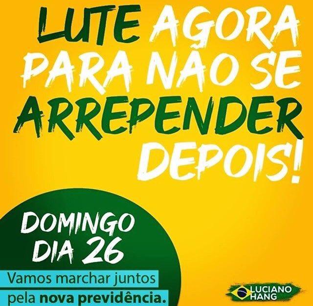 Domingo, 26 de maio: Brasil