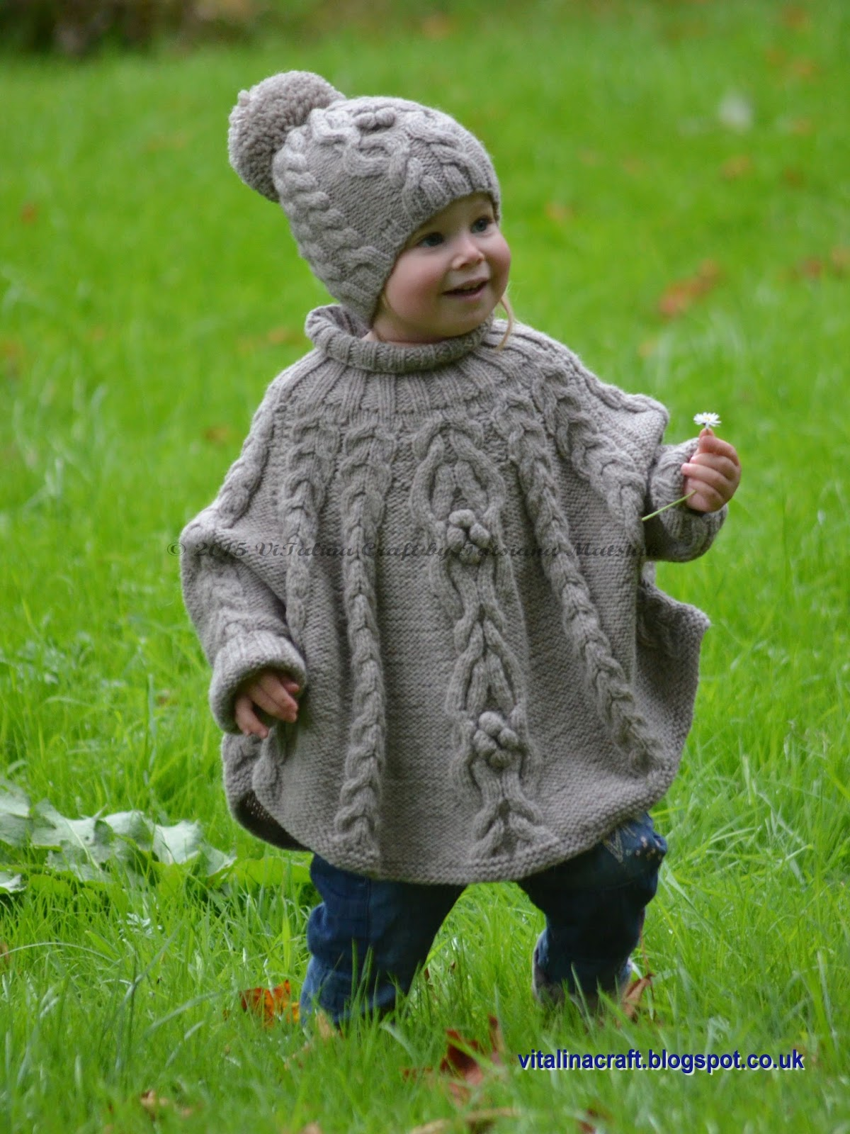 Temptation Poncho and Hat Set | ViTalina Craft