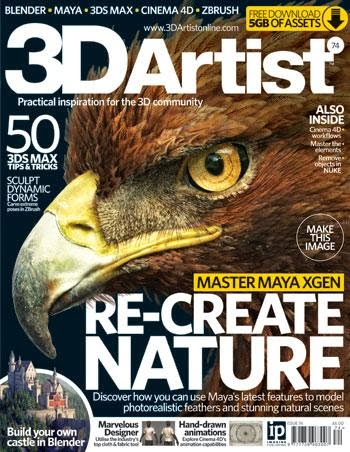 3D Artist Magazine Issue 74 2014