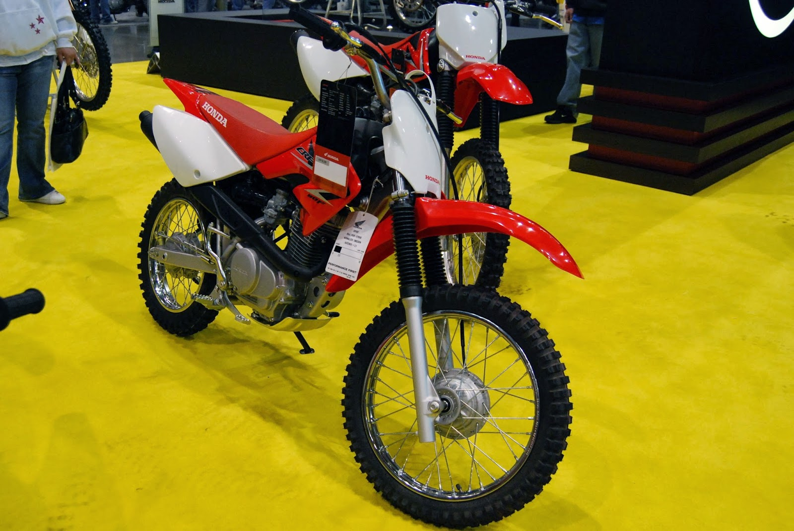Honda CRF 80F Motorcycle Wallpapers
