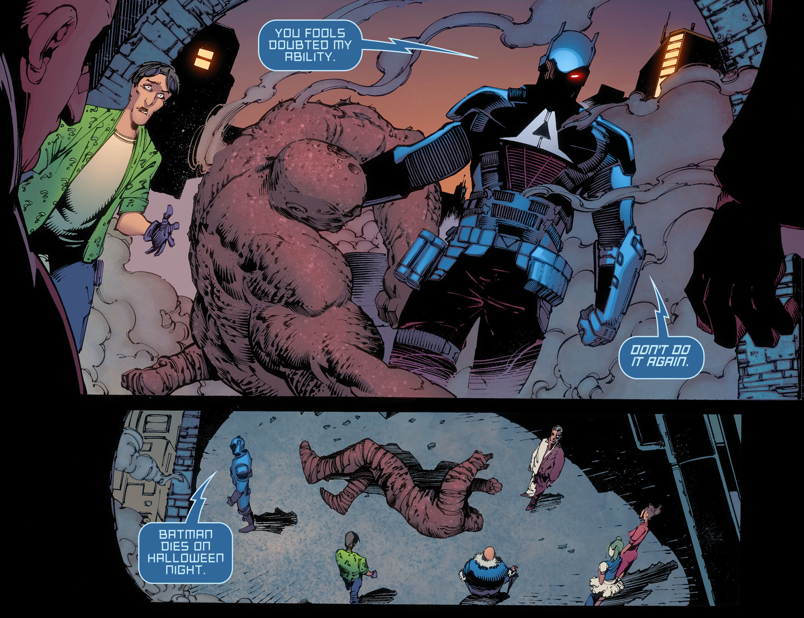 Batman: Arkham Knight [I] Issue #38 #40 - English 21