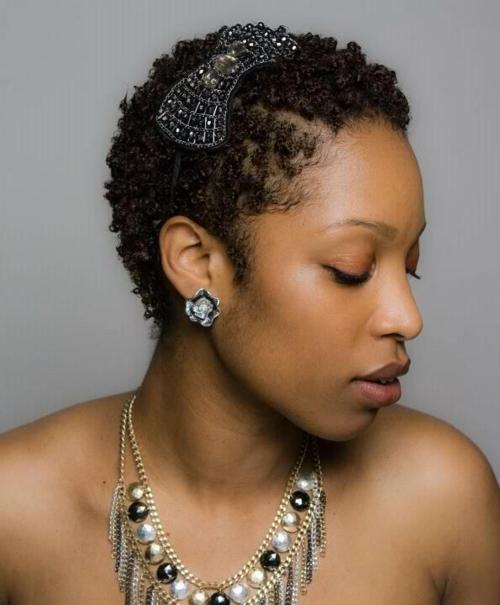 My Kinks and Curls: Styling a TWA | TWA Hairstyles (Part Two)