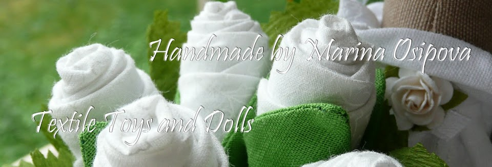 Текстильные игрушки и куклы ручной работы