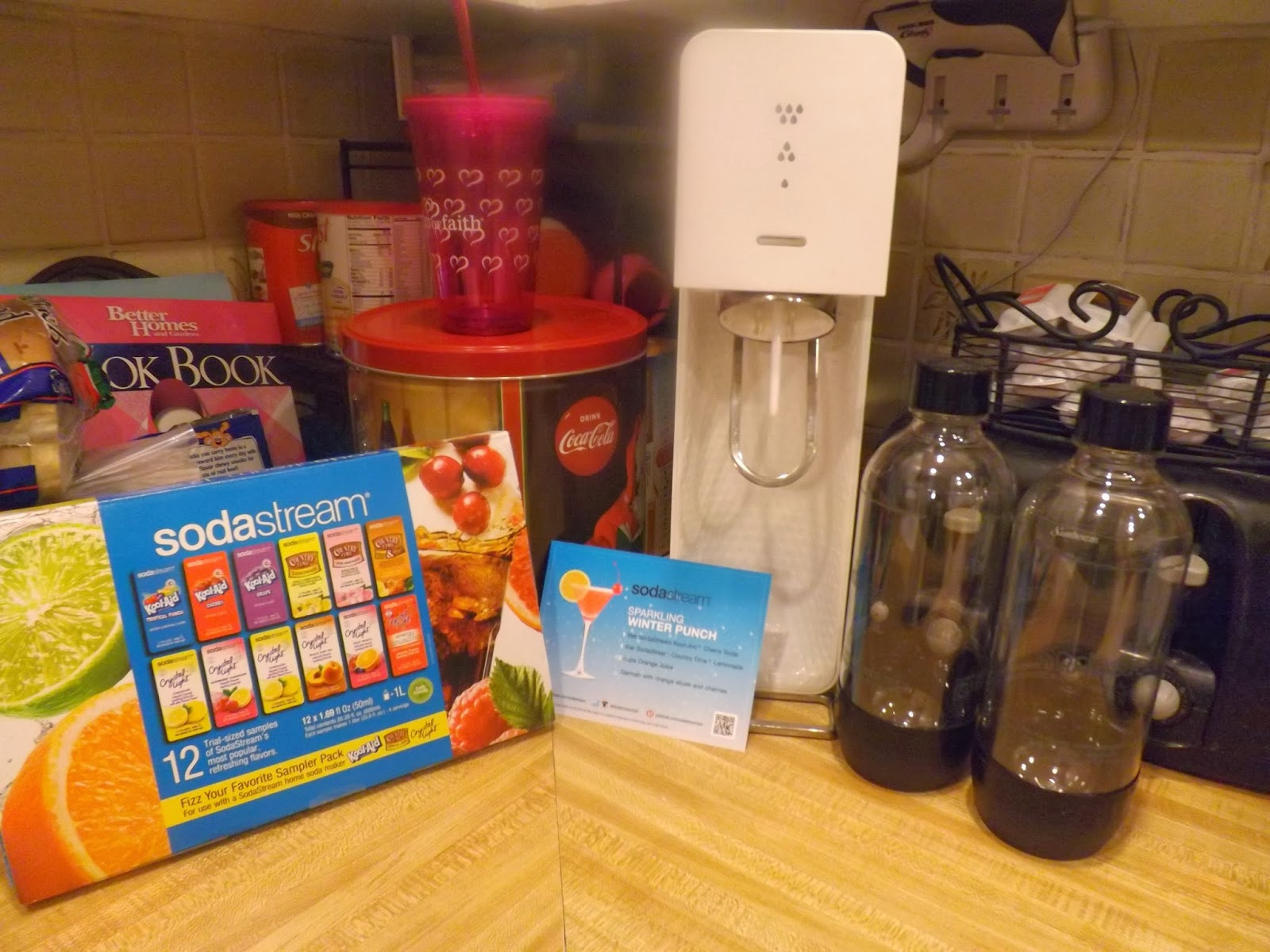 Soda Stream NEW Flavors Review and Recipe