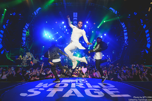 Jason Derulo performing at MTV World Stage Malaysia 2015 on 12 Sep Pic 1 (Credit - MTV Asia & Kristian Dowling)