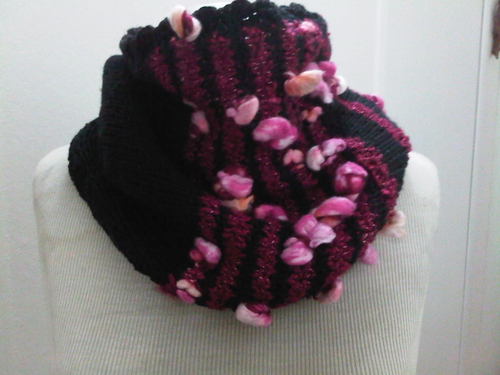 Cuellos tejidos a palillo.Abrigadores 2012