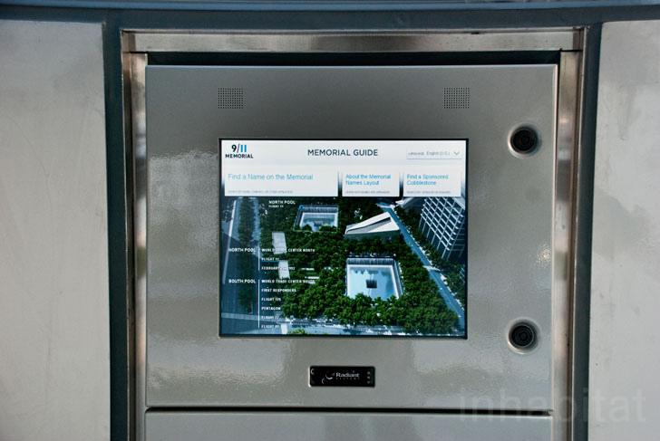 WTC memorial park 9/11