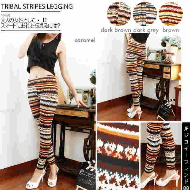 celana tribal, tribal pants, celana legging, motif tribal