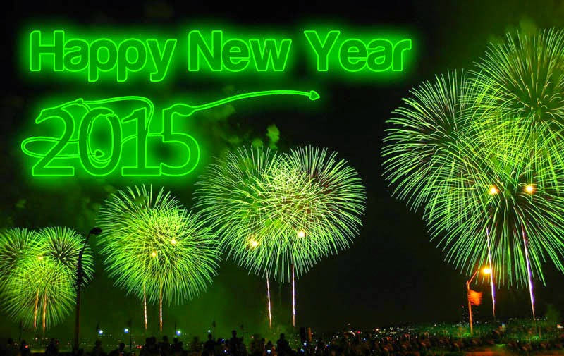 Latest Beautiful Happy New Year 2015 Cards – Download eCards