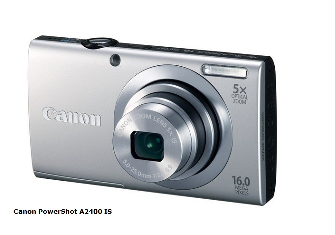Canon PowerShot A2400 IS review