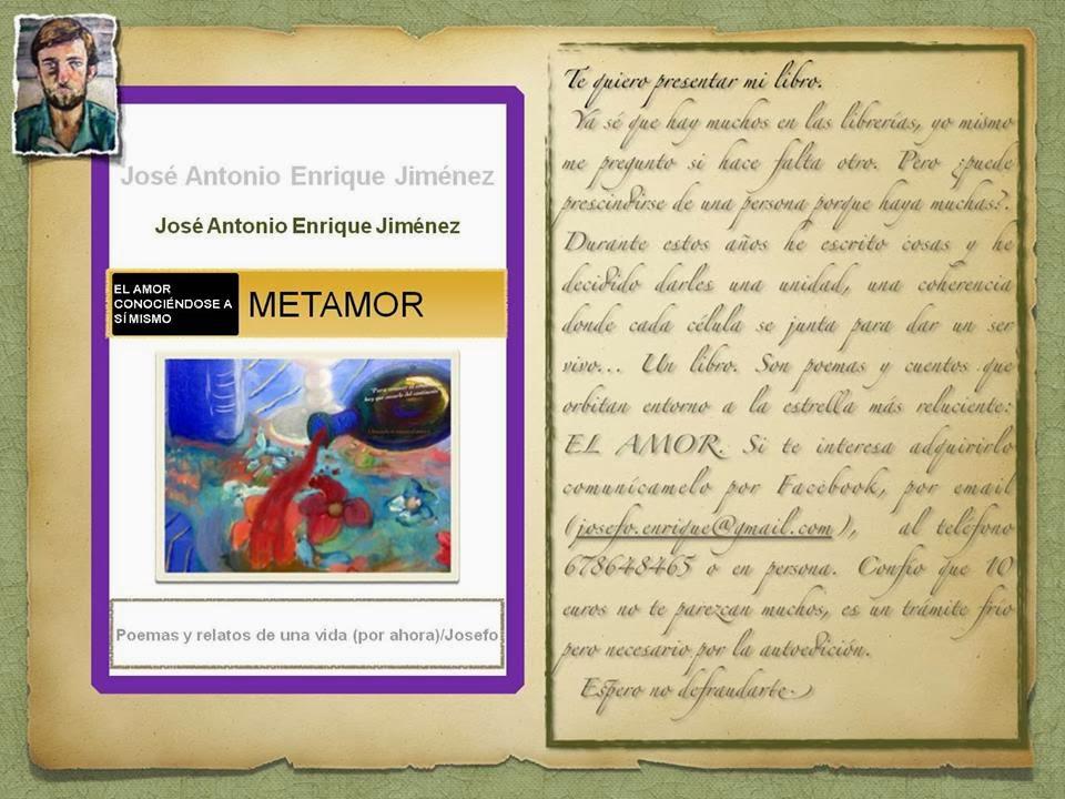 """LIBRO ESCRITO POR MI HERMANO: """"METAMOR"""""""