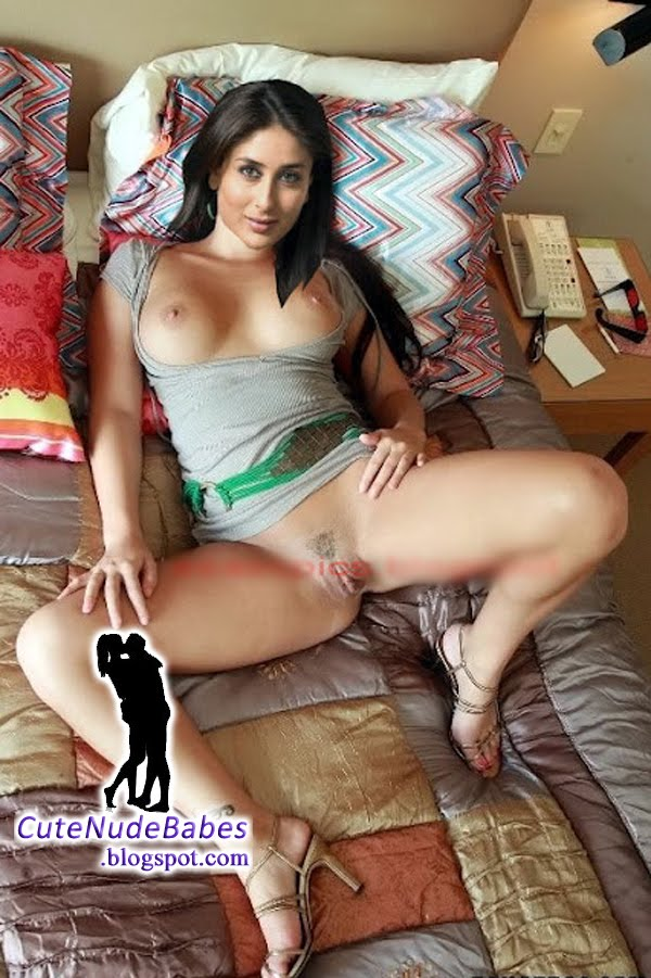 Kareena Kapoor Totaly Naked Showing Her Super Cute Sexy Shaved ...