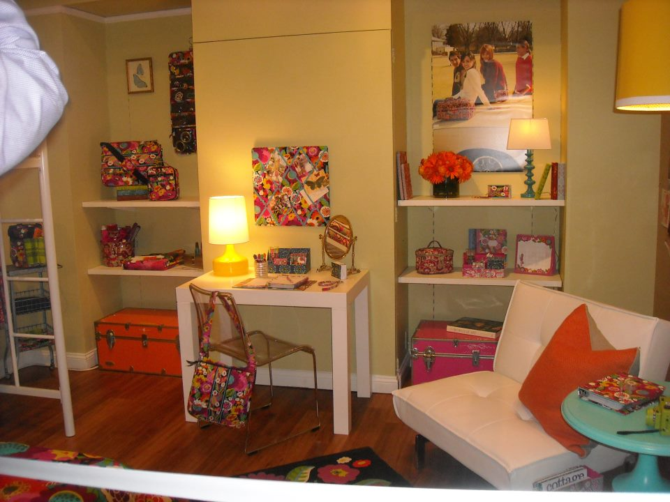 OhMyVera! A Blog About All Things Vera Bradley: Vera Bradley Dorm Room Preview For Fall 2012