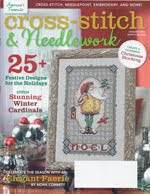 FIND BLUE RIBBON DESIGNS IN THE JANUARY 2013 ISSUE OF CROSS-STITCH &amp; NEEDLEWORK MAGAZINE