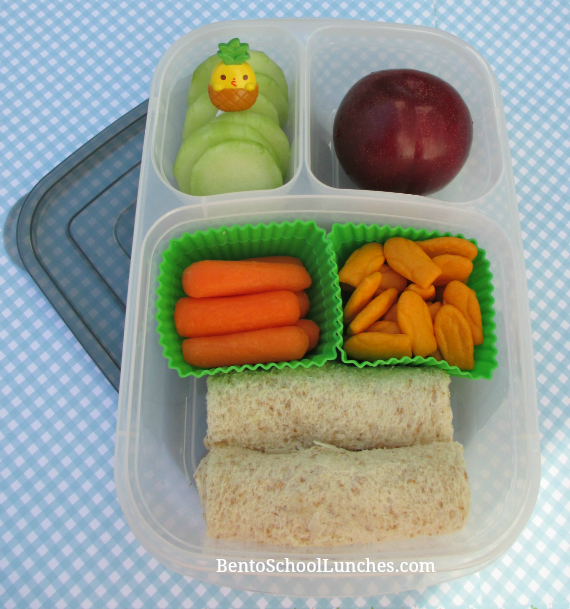 Bread roll ups, Easylunchboxes urban, bento school lunches