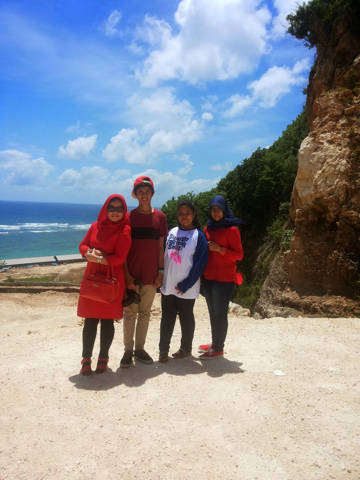 My Beibeh  at Pandawa Beach Bali