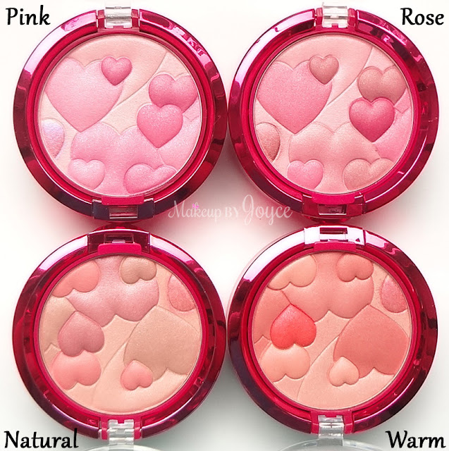 Physicians Formula Pink Warm Natural Rose Blush Swatches