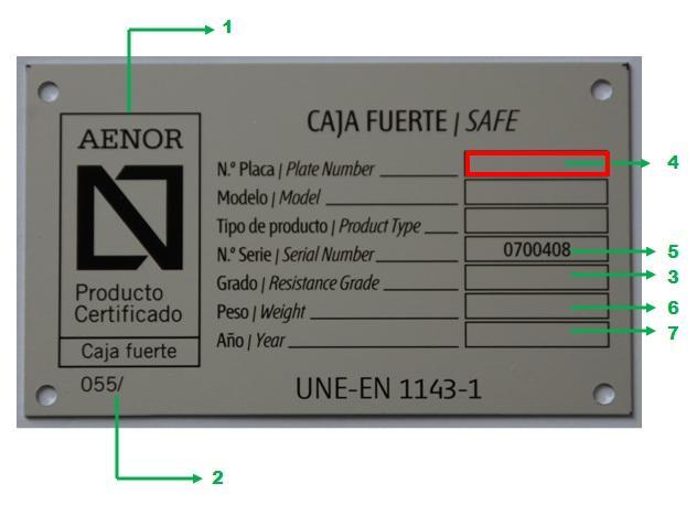 Armero para arma corta grado iii orden int 317 2011 for Certificado ministerio del interior