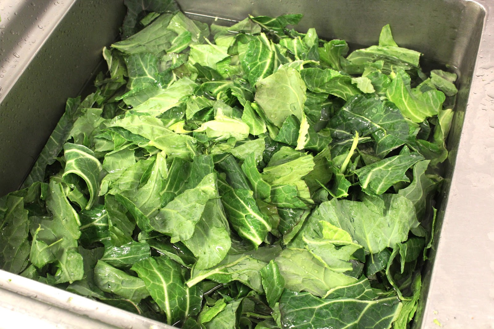 Minute Collard Greens | Chef Todd Richards
