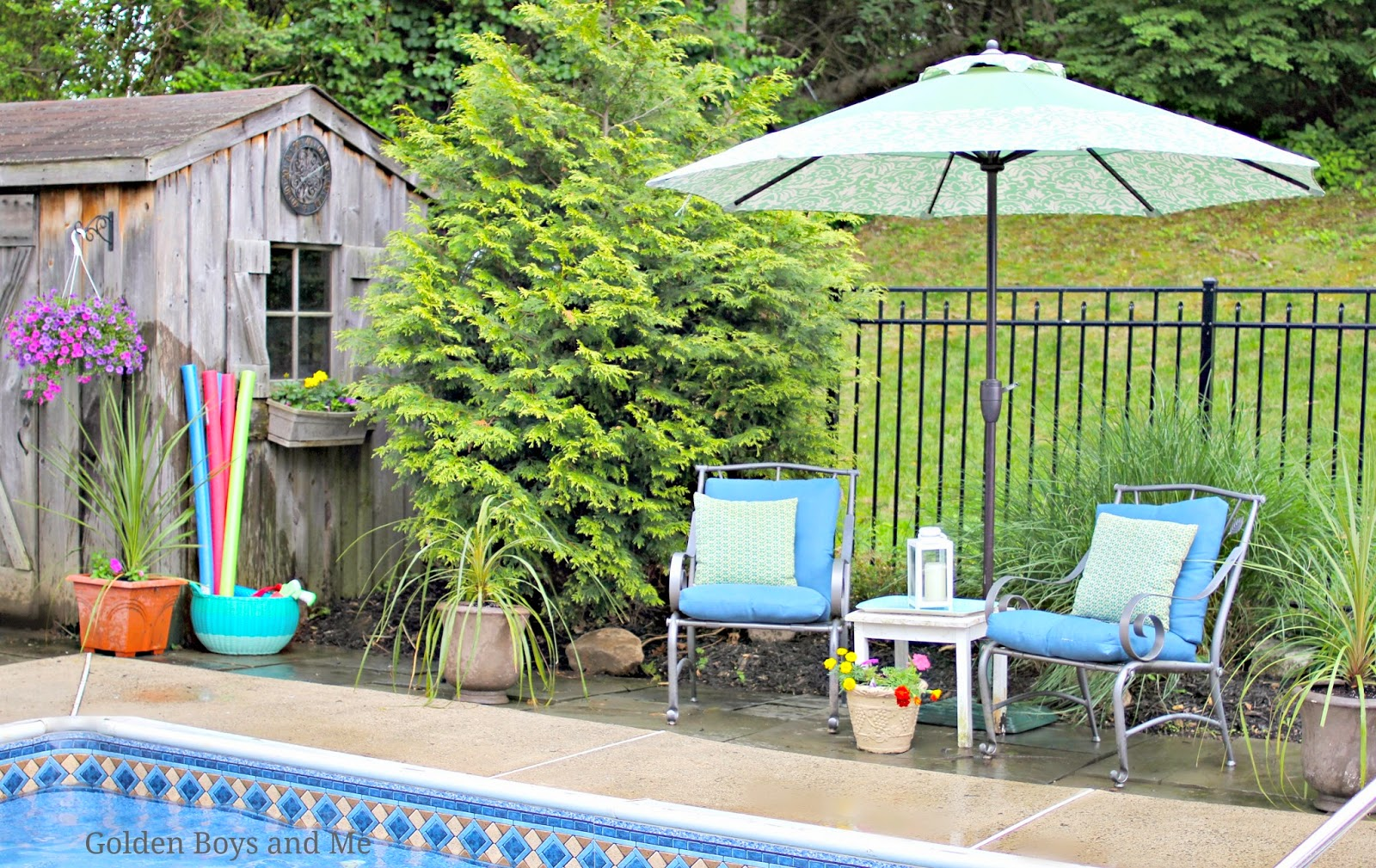 Pool and Patio ideas-www.goldenboysandme.com