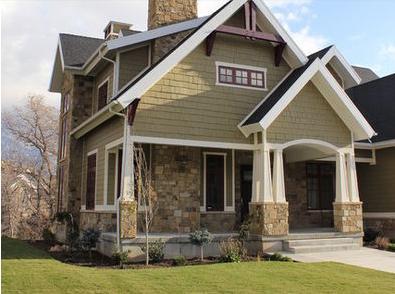Fachadas de casas decoraciones de fachadas de casas - Decoraciones de casas ...