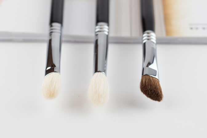 sigma beauty e25 e35 e70 tapered blending medium angled shading brush review