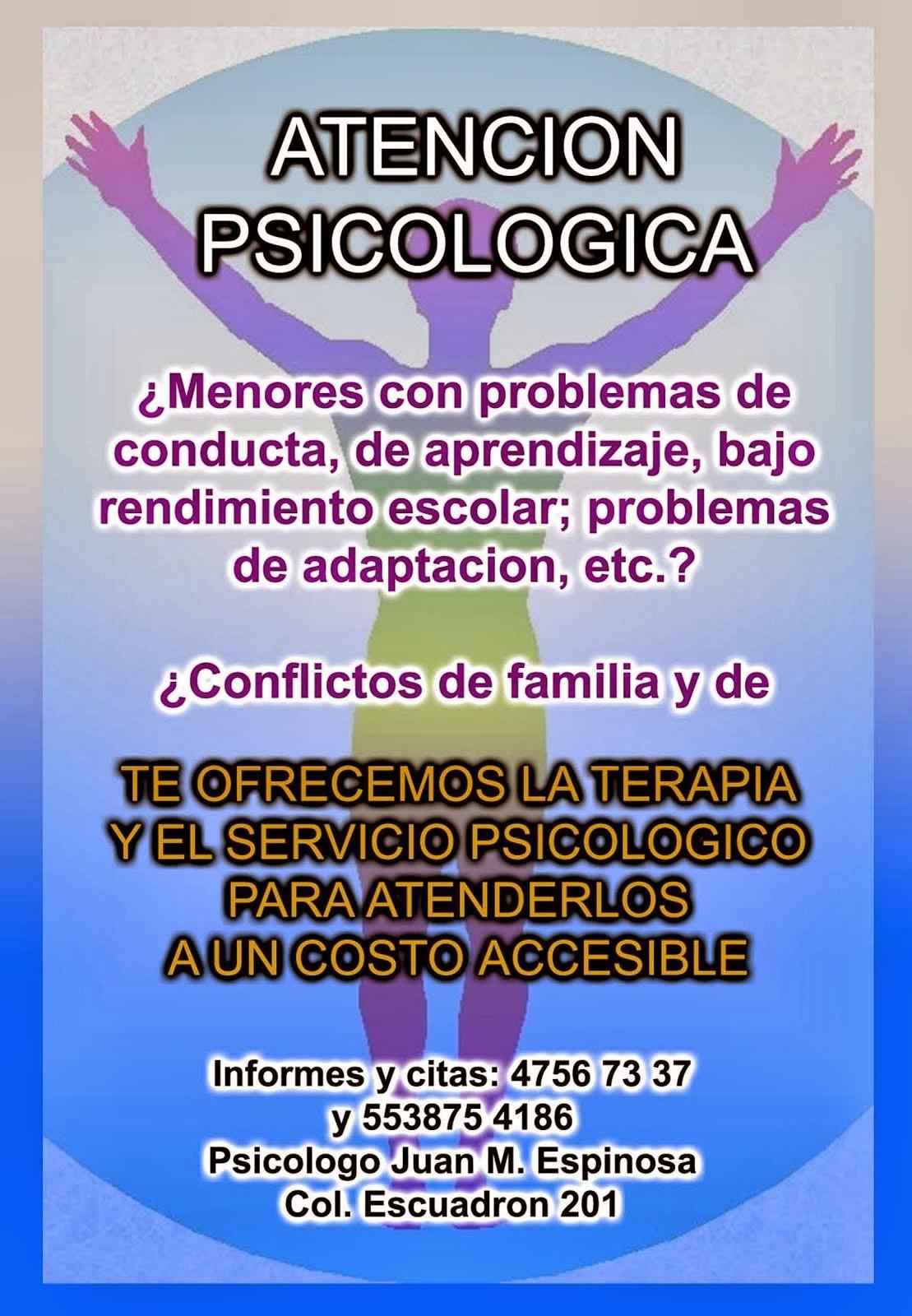 ATENCION PSICOLOGICA