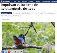 GRAN NOTICIA: Primer Encuentro Provincial de Observación de Aves.
