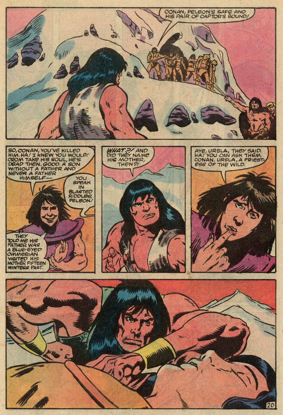 Conan the Barbarian (1970) Issue #145 #157 - English 21