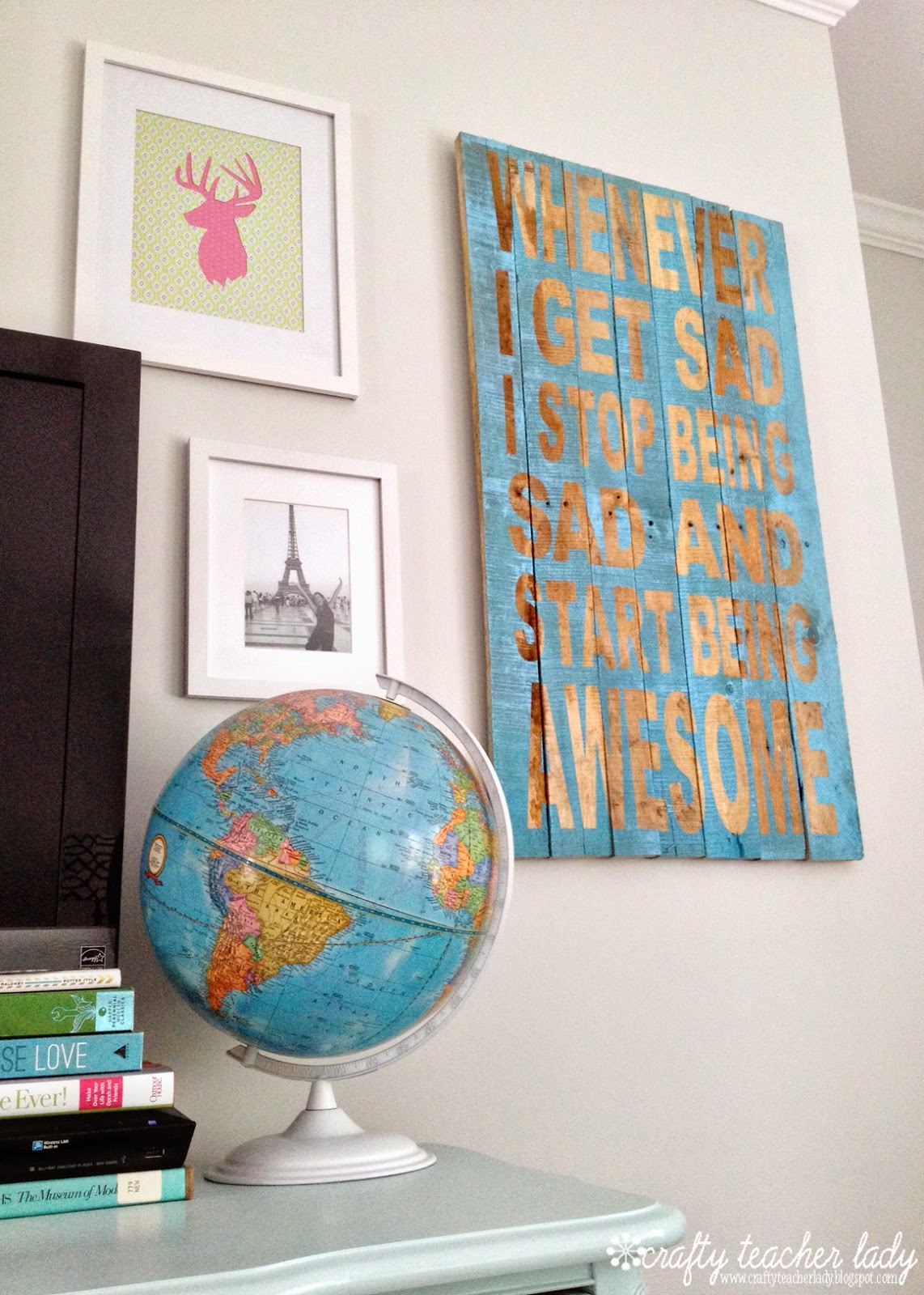 DIY Rustic Palllet Sign