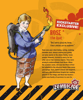 Zombicide Kickstarter Rose the Aunt Survivor