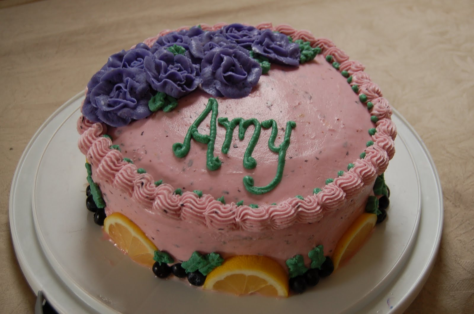 Cakes Cakes Cakes Amy Rae Furnares Lemon Blueberry Birthday Cake