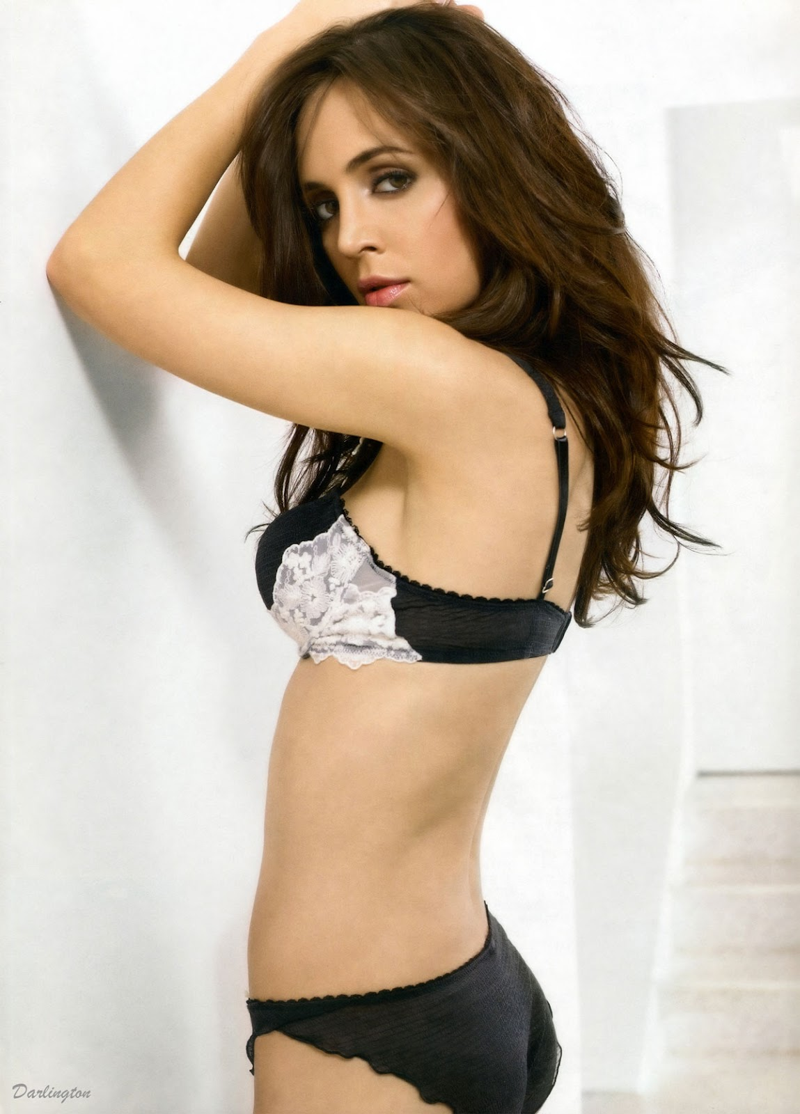 Eliza Dushku In a Lingerie - James White photoshoot For Maxim