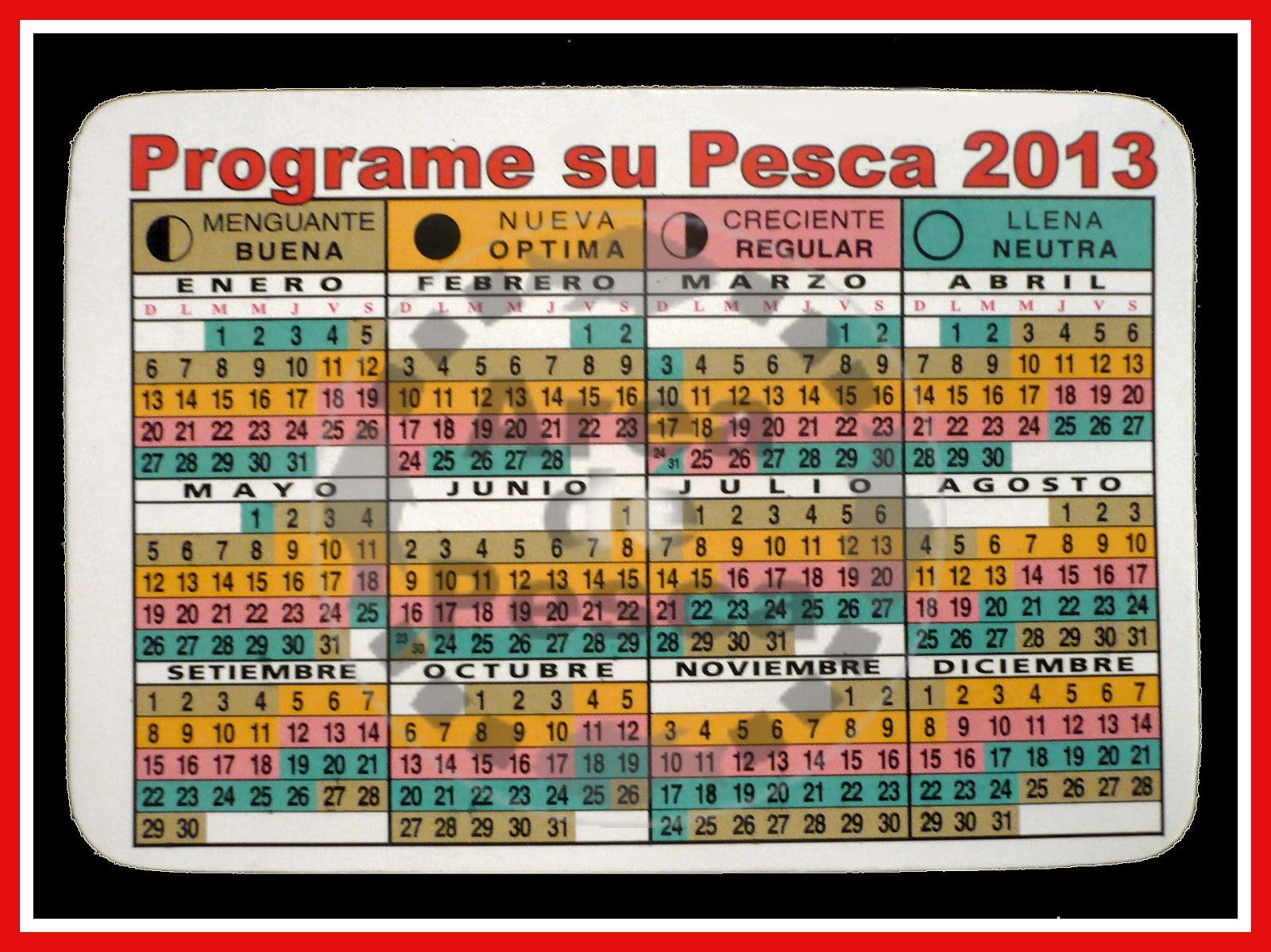Calendario Solunar De Pesca 2015 Espaa | Search Results | Calendar ...