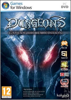 Modelo Capa Download   Dungeons   Game Of The Year Edition FiGHTCLUB   PC (2012)