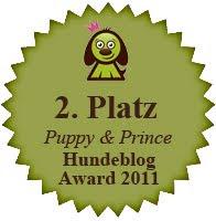 2. Platz beim Hunde-Blog-Award