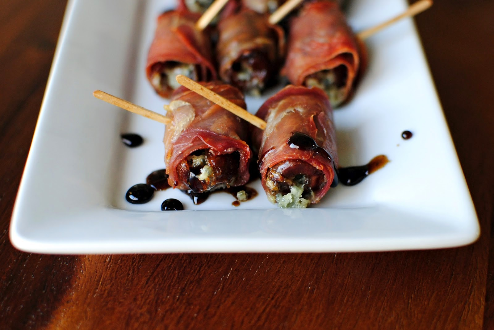 Prosciuttowrapped Stuffed Dates Recipe